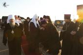 Первосвятительский визит в Мордовию. Проводы в аэропорту Саранска