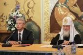 Святейший Патриарх Кирилл возглавил заседание Cовета попечителей Храма Христа Спасителя