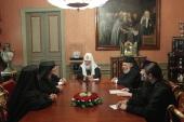 Святейший Патриарх Кирилл принял архиереев Антиохийской Православной Церкви