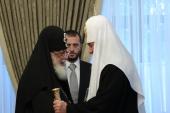 В Киево-Печерской лавре состоялась встреча Предстоятелей Русской и Грузинской Православных Церквей