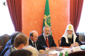 Предстоятель Русской Церкви выступил на встрече с ректорами высших учебных заведений Украины