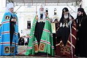 Слово Святейшего Католикоса-Патриарха Илии II после Божественной литургии в Киево-Печерской лавре в день памяти святого равноапостольного князя Владимира
