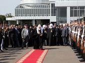 Завершился Первосвятительский визит Святейшего Патриарха Кирилла на Украину