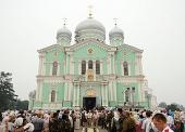 Патриаршее поздравление по случаю празднования 20-летия второго обретения святых мощей преподобного Серафима Саровского