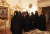 Божественная литургия в домовом храме Патриаршей резиденции в Переделкине