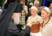 Архиепископ Ярославский и Ростовский Пантелеимон прибыл к месту служения