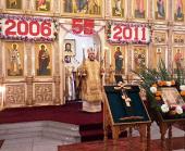 Делегация Русской Православной Церкви приняла участие в торжествах по случаю пятилетия освящения Троицкого храма в Пхеньяне