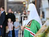 Проповедь Святейшего Патриарха Кирилла в праздник Преображения Господня в Храме Христа Спасителя