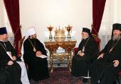 Председатель Отдела внешних церковных связей Московского Патриархата встретился с Блаженнейшим Патриархом Антиохийским Игнатием