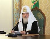 Слово Святейшего Патриарха Кирилла на третьем заседании Высшего Церковного Совета Русской Православной Церкви