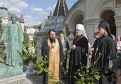 Архиепископ Егорьевский Марк совершил освящение памятника бывшему настоятелю русского храма в Карловых Варах
