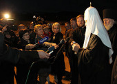 Предстоятель Русской Церкви прибыл в Магадан