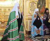 Святейший Патриарх Кирилл: Мы не должны забыть страшный урок прошлого, ведь и сегодня нас хотят вернуть к жизни без Бога
