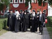 Новодевичий монастырь посетила делегация Элладской Православной Церкви