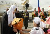 Предстоятель Русской Церкви прибыл в Иркутск