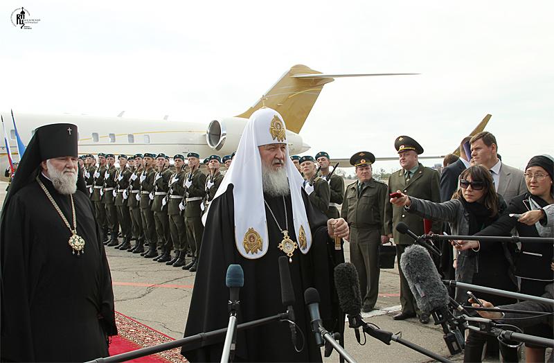 Первосвятительский визит в Иркутскую епархию. Прибытие в Иркутск