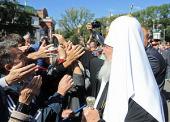 С 29 августа по 3 сентября состоялся Первосвятительский визит Святейшего Патриарха Кирилла в Абаканскую, Магаданскую и Иркутскую епархии