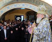 Проповедь Святейшего Патриарха Кирилла за Литургией в Иркутском Знаменском монастыре