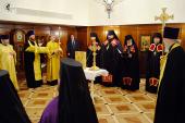 Состоялось наречение архимандрита Корнилия (Синяева) во епископа Волгодонского и Сальского и архимандрита Адриана (Ульянова) во епископа Бежецкого