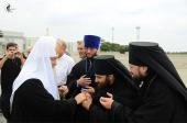 Завершился Первосвятительский визит Святейшего Патриарха Кирилла в Луганск
