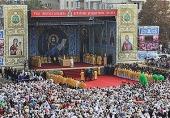 Проповедь Святейшего Патриарха Кирилла за Божественной литургией на Театральной площади Луганска