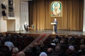 Святейший Патриарх Кирилл принял участие в торжественном вечере, посвященном 100-летию канонизации святителя Иоасафа Белгородского