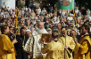 Первосвятительский визит в Белгородскую епархию. Божественная литургия на Соборной  площади Белгорода в день 100-летия прославления святителя Иоасафа Белгородского