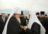 Завершился визит Святейшего Патриарха Кирилла в Воронежскую епархию