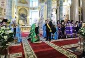 Проповедь Святейшего Патриарха Кирилла в праздник Рождества Пресвятой Богородицы в Казанском соборе Петербурга