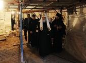 Святейший Патриарх Кирилл совершил литию по Патриарху Никону