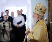 Проповедь Святейшего Патриарха Кирилла за Божественной литургией в Воскресенском Ново-Иерусалимском монастыре