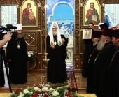 Предстоятель Русской Церкви посетил Черновицкое епархиальное управление