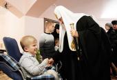 Святейший Патриарх Кирилл освятил дом детей-инвалидов при Вознесенском Банченском монастыре
