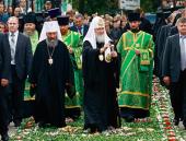 Завершился Первосвятительский визит Святейшего Патриарха Кирилла в Черновицкую епархию