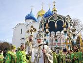 Предстоятель Русской Церкви возглавит торжества в Троице-Сергиевой лавре по случаю дня преставления преподобного Сергия Радонежского