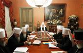 Завершился первый день работы зимней сессии Священного Синода Русской Православной Церкви