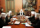 ЖУРНАЛЫ заседания Священного Синода от 5-6 октября 2011 года