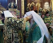 Святейший Патриарх Кирилл возвел в сан митрополита ряд архиереев Русской Православной Церкви