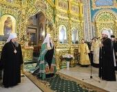 Святейший Патриарх Кирилл: Молдова стала связующим звеном между двумя мощными культурными традициями Европы — латинской и славянской