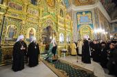 Святейший Патриарх Кирилл посетил кафедральный собор в честь Рождества Христова в Кишиневе