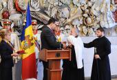 Святейший Патриарх Кирилл удостоен высшей государственной награды Республики Молдова
