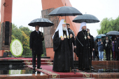 Святейший Патриарх Кирилл почтил память воинов, погибших в годы Великой Отечественной войны в боях за освобождение Молдавии