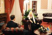Премьер-министр Молдавии проинформировал Святейшего Патриарха Кирилла о предстоящем строительстве кафедрального собора в Кишиневе