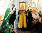 Слово Святейшего Патриарха Кирилла после Божественной литургии в храме св. Александра Невского в г. Балтийске