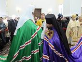 Слово Святейшего Патриарха Кирилла при вручении архиерейского жезла Преосвященному Иоанну (Павлихину), епископу Магаданскому и Синегорскому