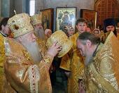 Иеромонах Николай (Погребняк), избранный епископом Балашихинским, викарием Московской епархии, возведен в сан архимандрита