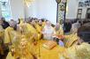 Первосвятительский визит в Калининградскую епархию. Чин великого освящения храма св. Александра Невского в Балтийске. Хиротония архимандрита Иоанна (Павлихина) во епископа Магаданского и Синегорского. Божественная литургия