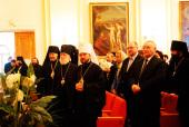 Митрополит Волоколамский Иларион возглавил торжественный акт в Московских духовных школах