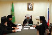Состоялось первое заседание Архиерейского совета Мордовской митрополии