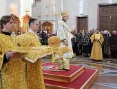 Игумен Аристарх (Яцурин), избранный епископом Амурским и Чегдомынским, и игумен Ефрем (Просянок), избранный епископом Николаевским, возведены в сан архимандрита